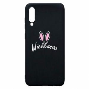 Etui na Samsung A70 Wielkanoc. Uszy królika