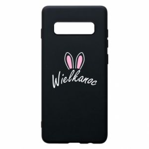 Phone case for Samsung S10+ Easter. Bbunny ears