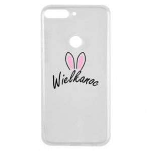 Phone case for Huawei Y7 Prime 2018 Easter. Bbunny ears