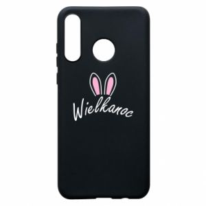 Phone case for Huawei P30 Lite Easter. Bbunny ears