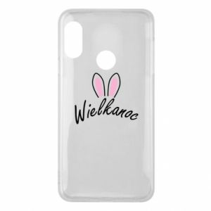 Phone case for Mi A2 Lite Easter. Bbunny ears