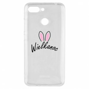Phone case for Xiaomi Redmi 6 Easter. Bbunny ears
