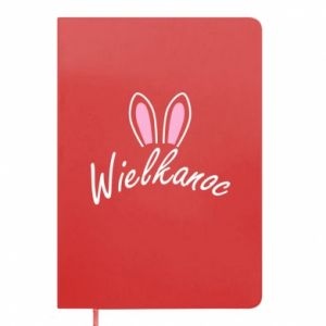 Notepad Easter. Bbunny ears