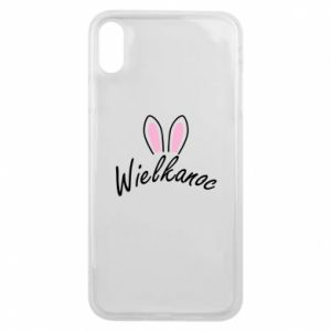 Phone case for iPhone Xs Max Easter. Bbunny ears