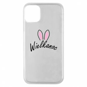 Phone case for iPhone 11 Pro Easter. Bbunny ears