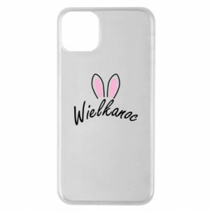 Etui na iPhone 11 Pro Max Wielkanoc. Uszy królika