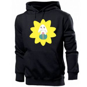 Men's hoodie Easter bunny