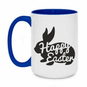Two-toned mug 450ml Easter