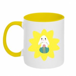 Two-toned mug Easter bunny