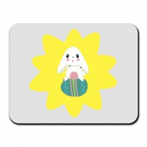 Mouse pad Easter bunny