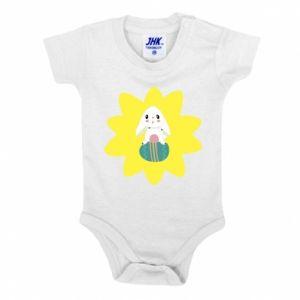 Baby bodysuit Easter bunny