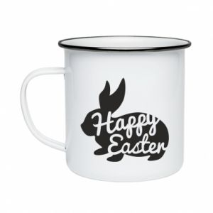 Enameled mug Easter