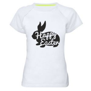 Damska koszulka sportowa Wielkanoc