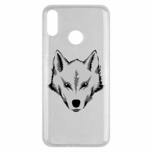 Huawei Y9 2019 Case Big wolf