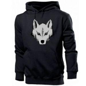 Męska bluza z kapturem Wielki wilk