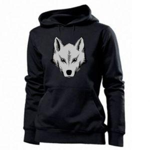 Women's hoodies Big wolf