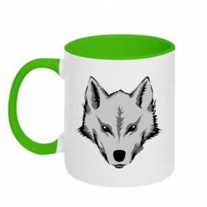 Two-toned mug Big wolf