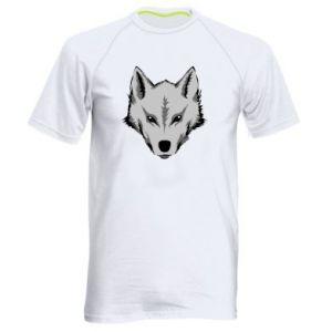 Męska koszulka sportowa Wielki wilk