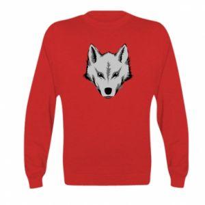 Kid's sweatshirt Big wolf