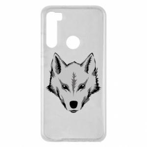 Xiaomi Redmi Note 8 Case Big wolf
