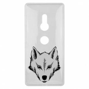 Sony Xperia XZ2 Case Big wolf