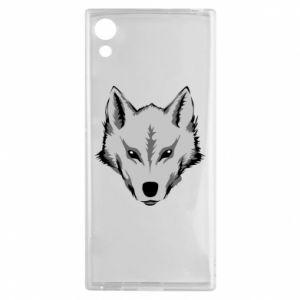 Sony Xperia XA1 Case Big wolf