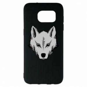 Samsung S7 EDGE Case Big wolf