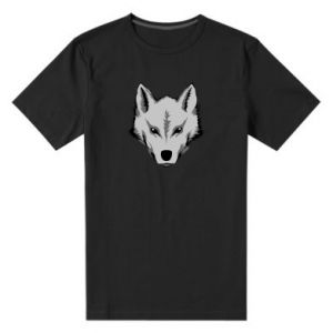 Męska premium koszulka Wielki wilk