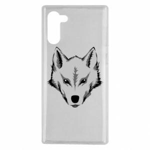 Samsung Note 10 Case Big wolf