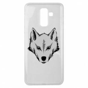 Samsung J8 2018 Case Big wolf