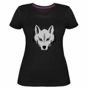 Women's premium t-shirt Big wolf