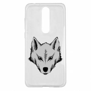 Nokia 5.1 Plus Case Big wolf