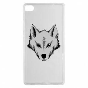 Huawei P8 Case Big wolf