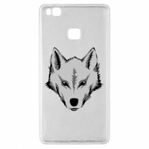Huawei P9 Lite Case Big wolf
