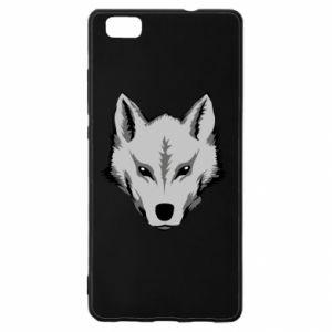 Huawei P8 Lite Case Big wolf