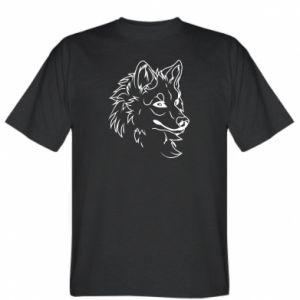 T-shirt Big evil wolf