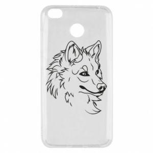 Xiaomi Redmi 4X Case Big evil wolf