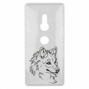 Sony Xperia XZ2 Case Big evil wolf