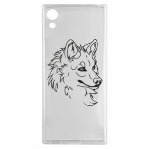 Sony Xperia XA1 Case Big evil wolf