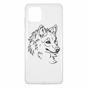 Samsung Note 10 Lite Case Big evil wolf