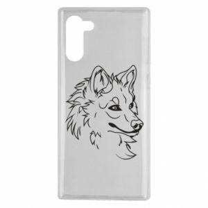 Samsung Note 10 Case Big evil wolf
