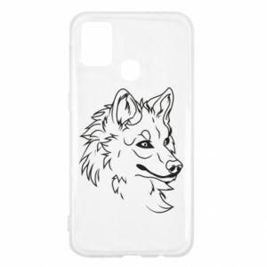 Samsung M31 Case Big evil wolf