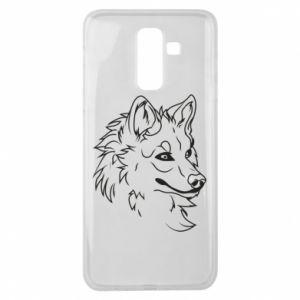 Samsung J8 2018 Case Big evil wolf