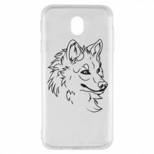 Samsung J7 2017 Case Big evil wolf