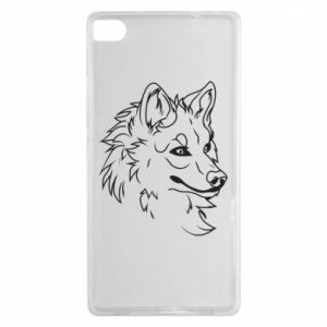 Huawei P8 Case Big evil wolf