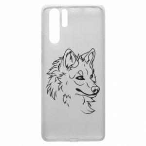 Huawei P30 Pro Case Big evil wolf
