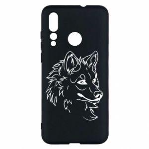 Huawei Nova 4 Case Big evil wolf