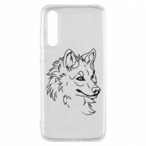 Huawei P20 Pro Case Big evil wolf