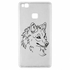 Huawei P9 Lite Case Big evil wolf