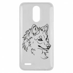 Lg K10 2017 Case Big evil wolf